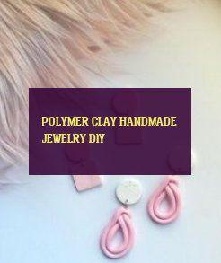 Polymer Clay handmade jewelry diy