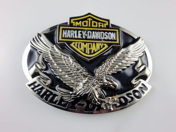 belt buckle   ... eagle harley davidson Motorcycles biker belt buckle  B351  f0eb5bfa905