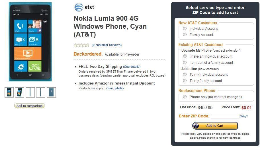 http://www.amazonwireless.com/dp/B007P5NHJO/ref=as_li_tf_tl?_encoding=UTF8=make08a-20=as2=1789=9325=B007P5NHJO Nokia Lumia 900 for $0.01 !! Grab it fast
