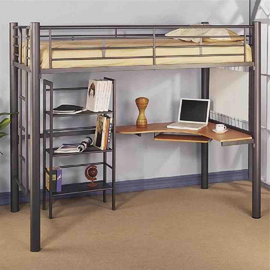 Wooden Computer Table Ikea Loft Bed