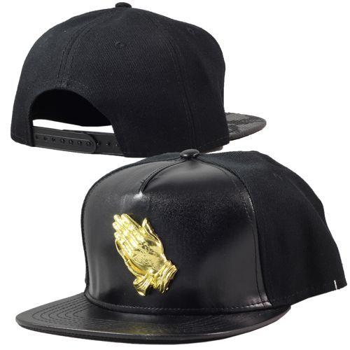 ba26a22f927 Savage Couture - Cuir Or Simple Cap Black http   www.urbanlocker.com ...