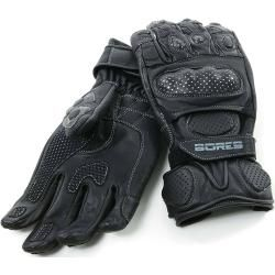 Photo of Bores Dark Black Handschuhe Schwarz S M Bores