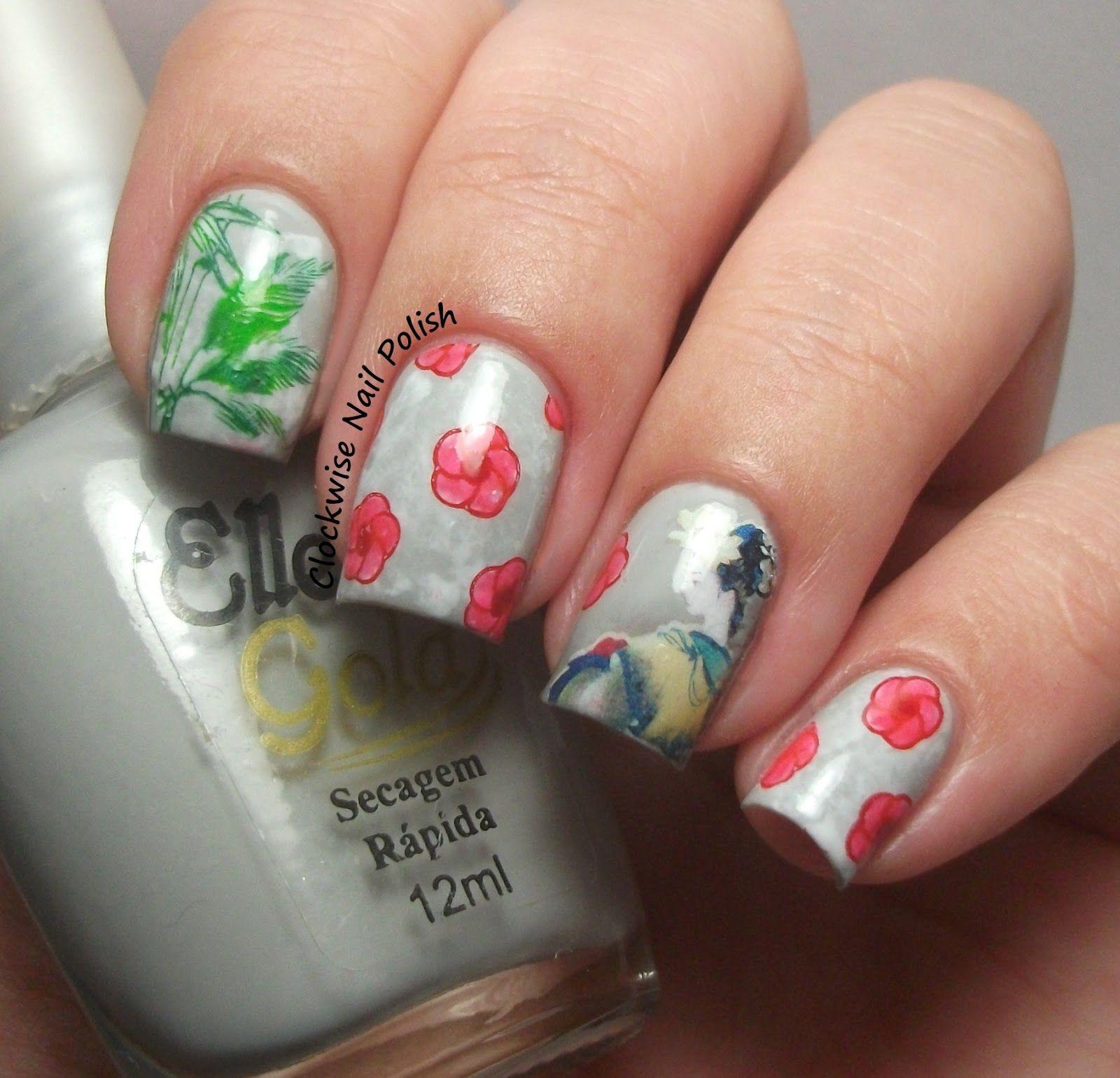 The Clockwise Nail Polish: Sunday Stamping Challenge: Chinese New ...