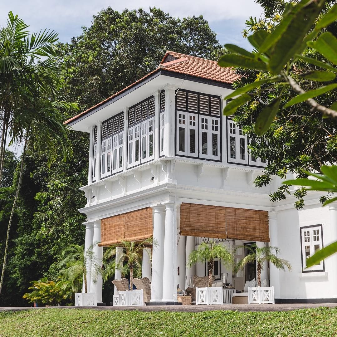 Bungalow 55 Singapore On Instagram We Are Very Excited To Have Been Hosts Of Channel News Asia Inte Colonial Exterior Colonial House Exteriors Colonial House