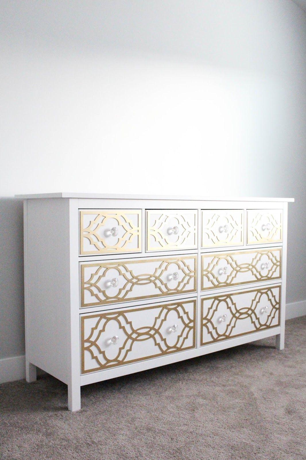 A Pretty Penny: DIY Ikea Dresser Hack: My Overlays... | My O ...