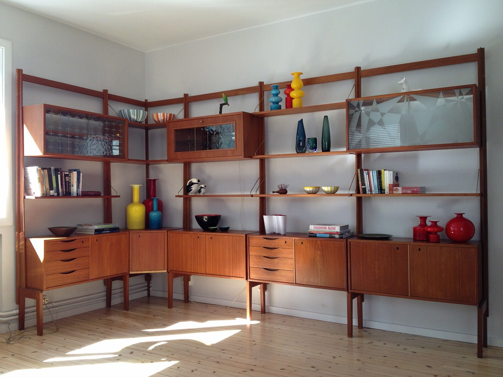retro reol FINN – Veggen de luxe teak retro reol fra Bruksbo | Shelves, cubes  retro reol