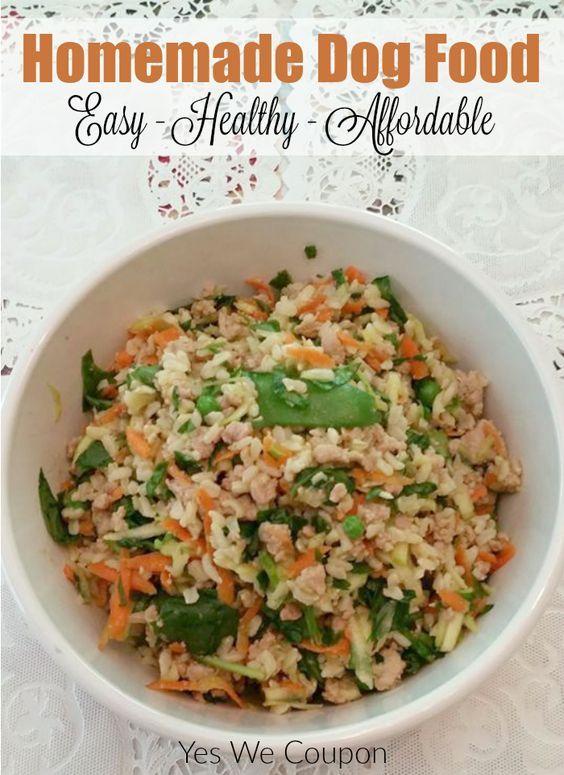 Diy Homemade Dog Food Recipe Healthy Dog Food Recipes Raw Dog Food Recipes Dog Food Recipes