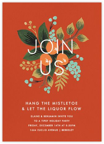 Pin by Andy Branston on Ill Illustration Holiday invitations