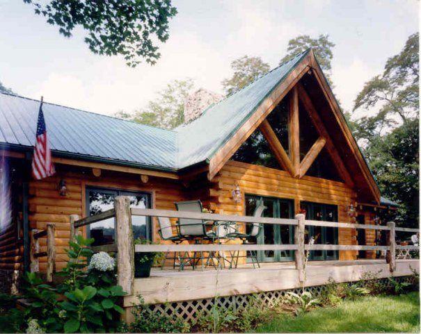Peacock Photo Log Homes Log Homes Exterior Log Cabin Homes