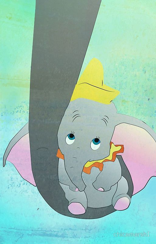 Dumbo And His Mom By Chicamarsh1 Çィズニー Àンボ