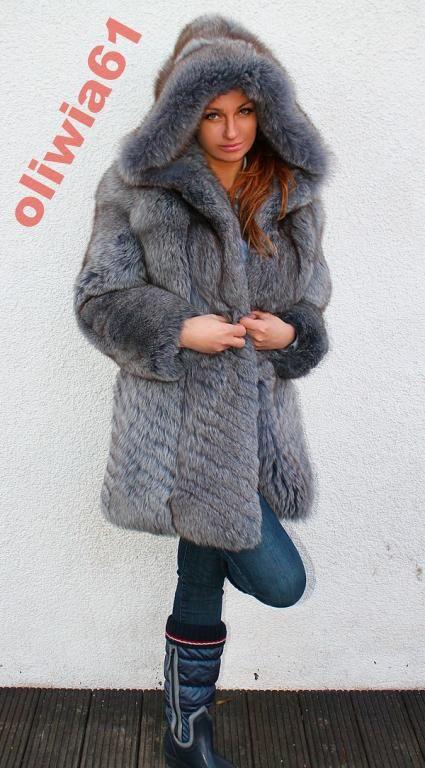 Futro Z Lisa Norki Norek Nowa Kolekcja Sale 4071315646 Oficjalne Archiwum Allegro Fur Parka Fur Fur Coat