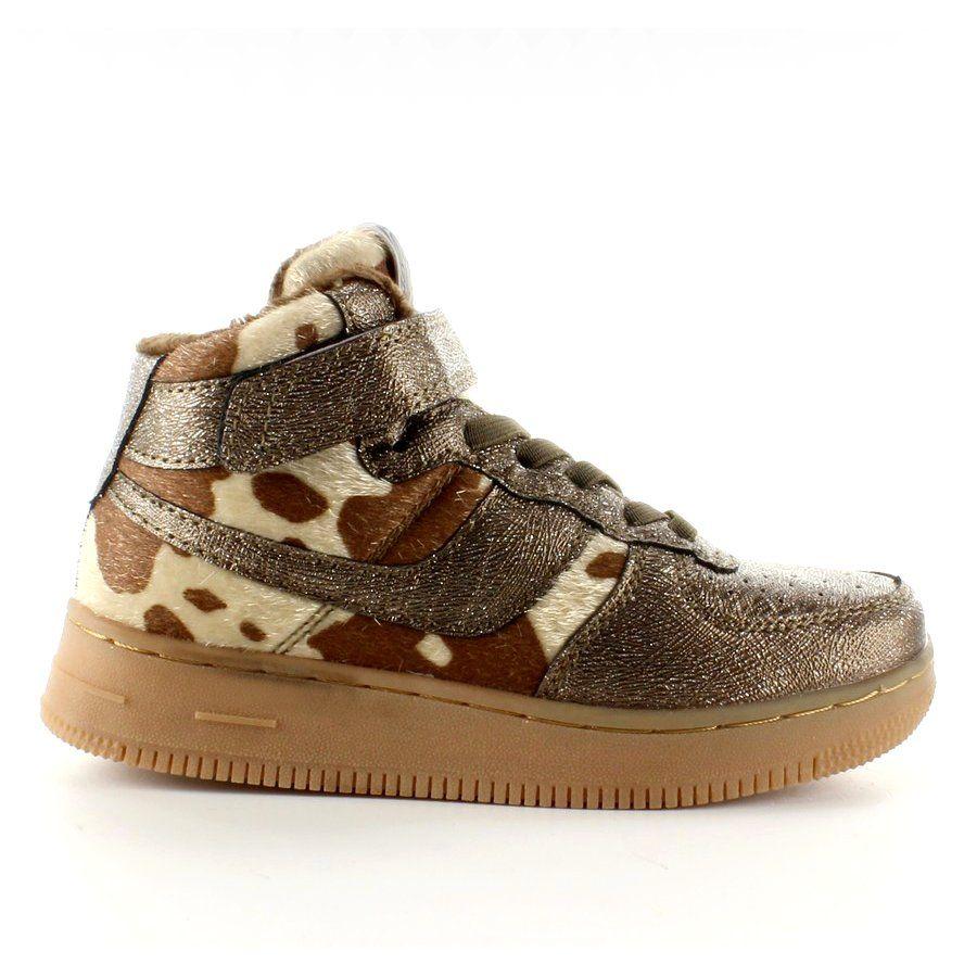 Dzieciece Buty Sportowe Ocieplane K1646103 Bronce Brazowe Childrens Boots Shoes Kids Boots