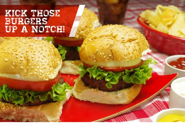 Kick Those Burgers Up a Notch! I think all three are here but I pinned each recipe too.