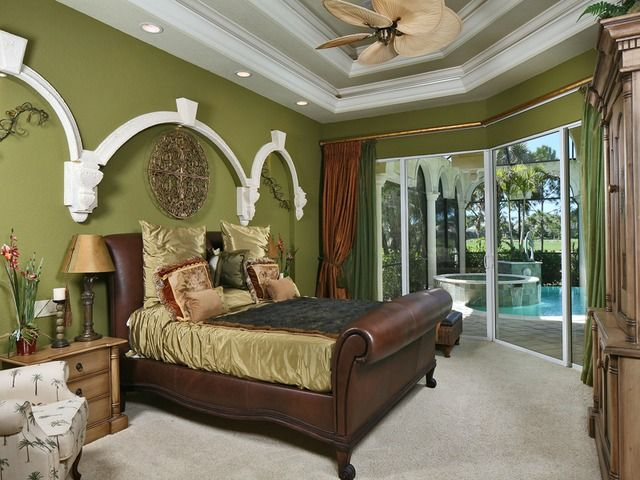 Master Bedroom At 3835 Isla Del Sol Way Luxury Living Guest Suite Custom Homes