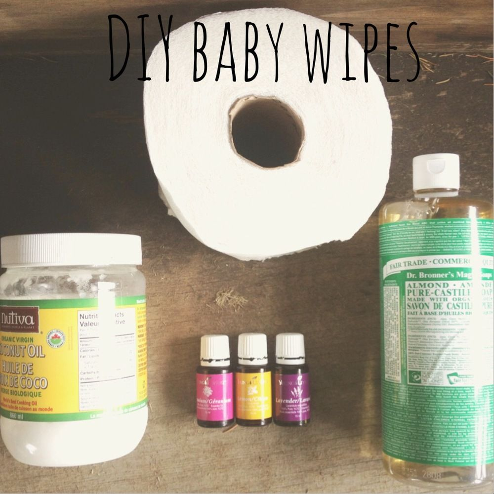 Wipe It Without Chemicals DIY Baby Wipes Natural baby