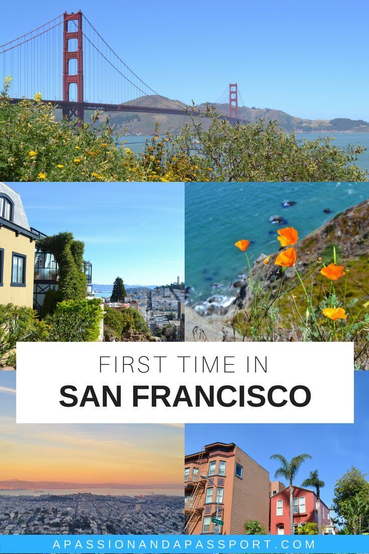 A First Time Visitors Guide to San Francisco   Travel ...