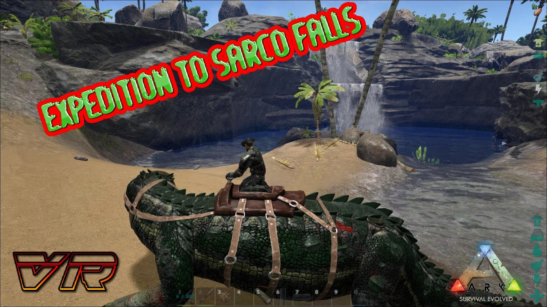 ARK: Survival Evolved [S2-Ep 8]: Expedition to Sarco Falls | ARK