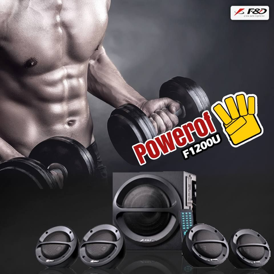Let's take the workout session to the next level with #Powerof4 T1200U