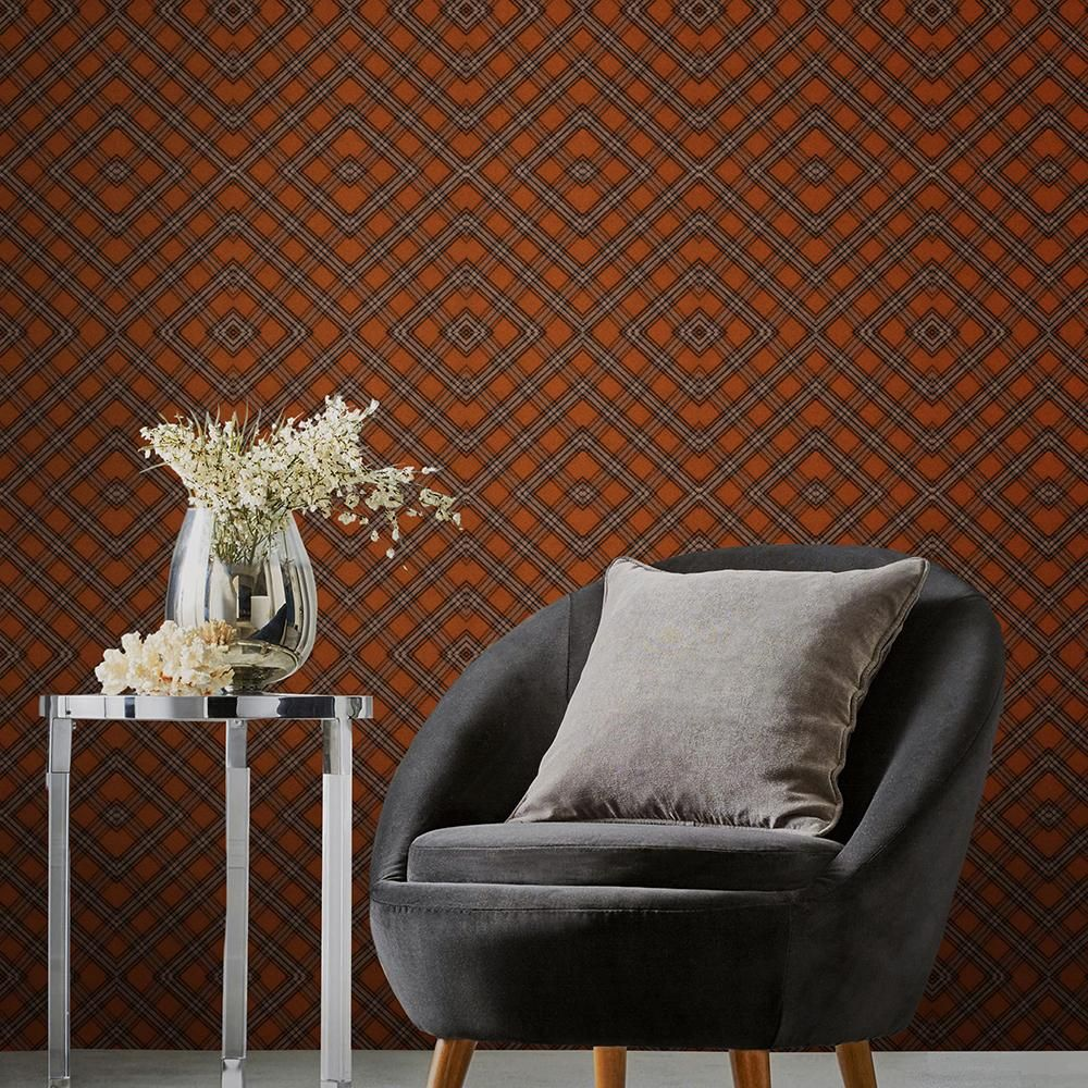Unusual Accent Chairs Pattern.Unusual Tartan Collectables Wallpaper In 2019 Quirky Style
