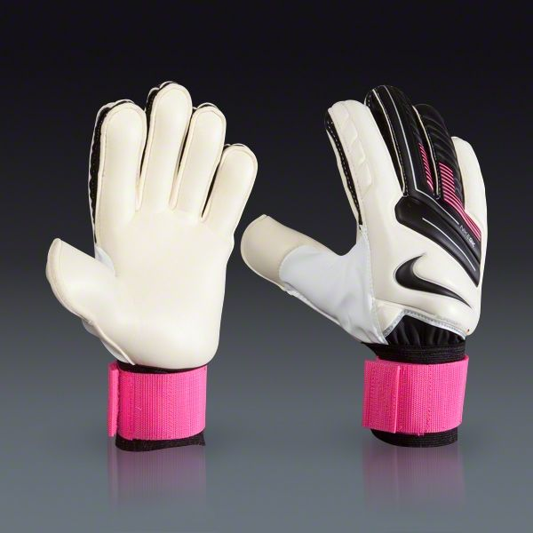 nike goalkeeper gloves pink