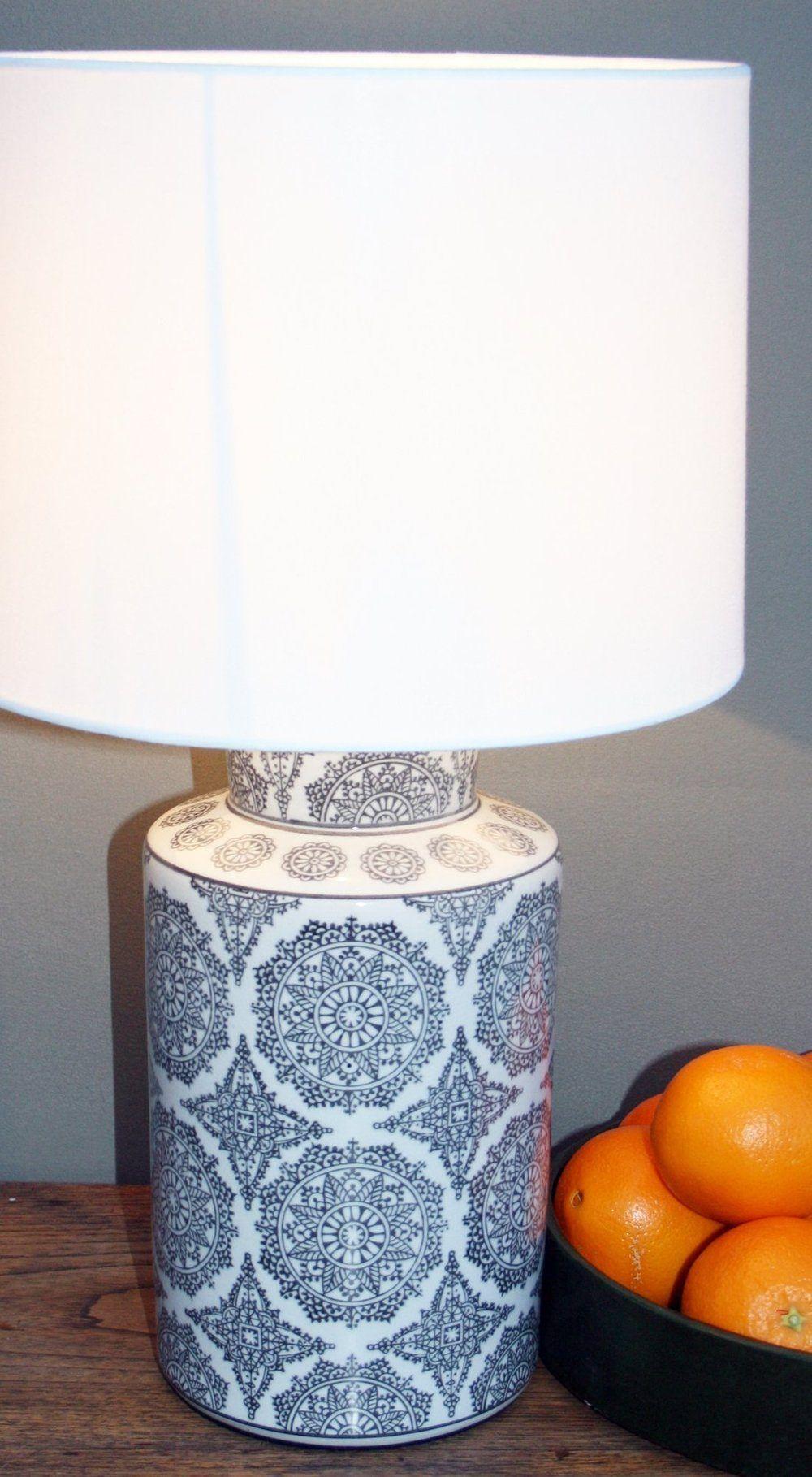 Black Mandala Lamp