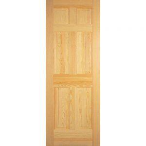 Great Solid Pine 6 Panel Interior Doors