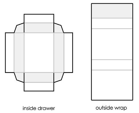 Download a printable template to make matchboxes to craft into - sample small envelope template