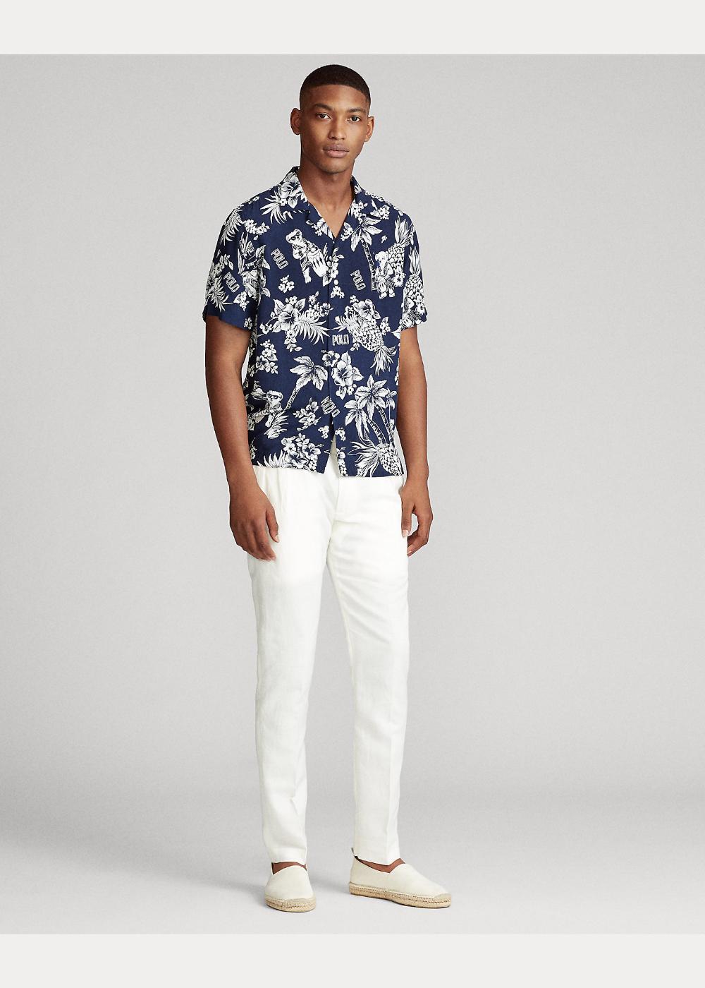 Custom Fit Tropical Bear Shirt In 2020 Bear Shirt Mens Outfits Custom Fit