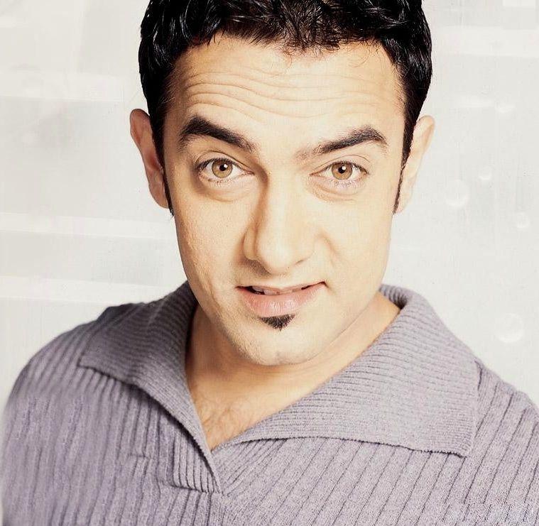 Aamir Khan He Looks Like Spock Here Is He Half Vulcan Does That Explain His Powers Of Perfection Aamir Khan Bollywood Actors Actors