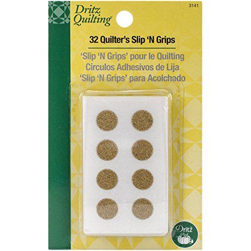 Dritz Quilting Quilter's Slip N Grips, 32-Count Dritz…