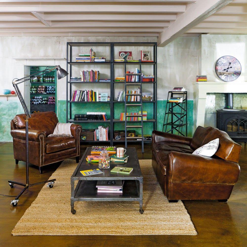 Table Basse Newton Maison Du Monde Mobilier De Salon Canape Style Industriel Decoration Salon