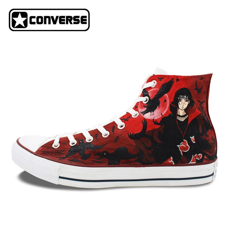 Itachi and Shisui Custom Design Shoes Converse All Star