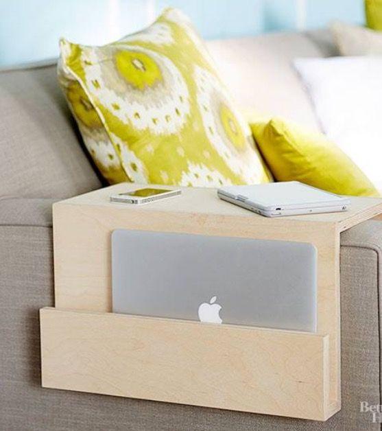 diy accoudoir bois pour canap bricolage et diy pinterest accoudoir canap s et diy. Black Bedroom Furniture Sets. Home Design Ideas