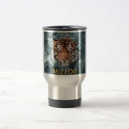 Mizzou Tigers Travel Mug