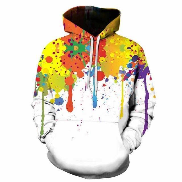 Color Splash Hoodie   Products   Pinterest   Hoodies, Sweatshirts ... e99bf0e6a88