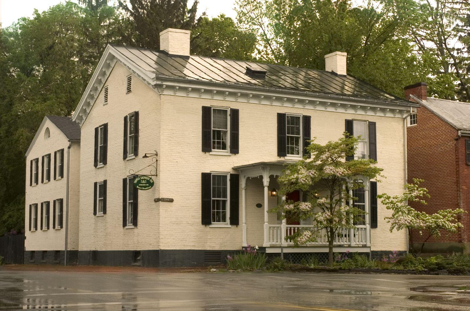 Thomas shepherd inn shepherdstown wv select registry bed breakfasts inns · small luxury hotelswest