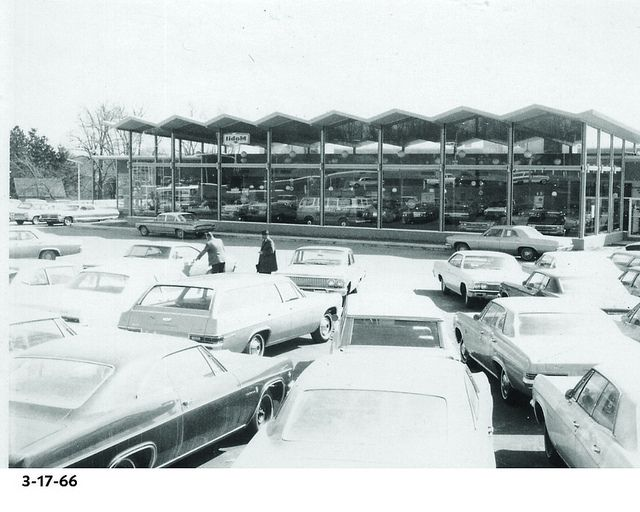 Completed Hoselton Chevrolet East Rochester Ny 1966