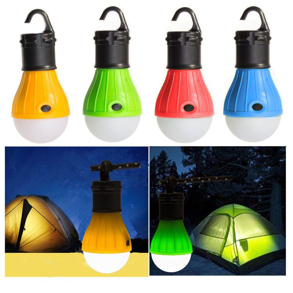 Bluesunshine 4 Pcs Led Tent Lamp Camping Light Portable Led