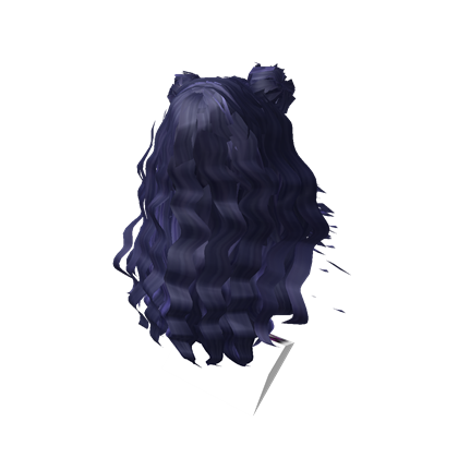 Pelo Mujer Rubio Roblox Huge Dark Blue Long Hair With Twin Buns From Lgco Roblox Black Hair Roblox Long Hair Styles Space Hair