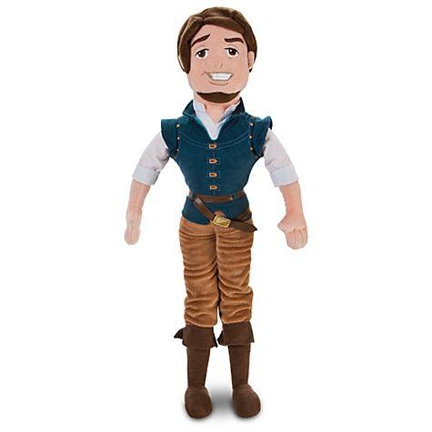 Kaylie: Tangled Plush Flynn Doll -- 21'' H