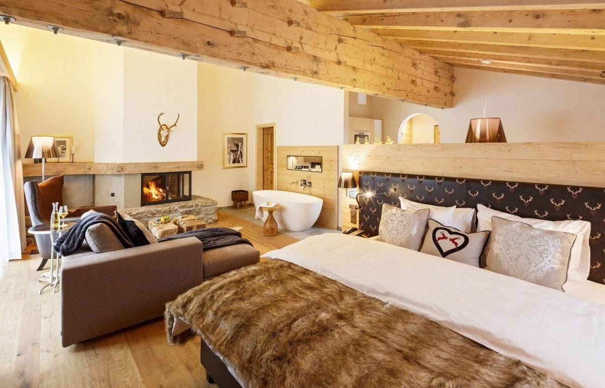 Appartements Alpenchic 80 120 M2 Wohnen Zimmer Wohnzimmer