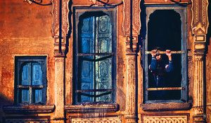 India, Nawalgarh : An open window by ~Nujabes on deviantART