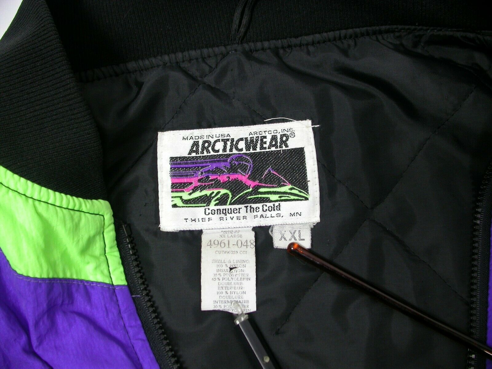 Arctic Cat 1996 ZR Zipout liner for 3in1 snowmobile