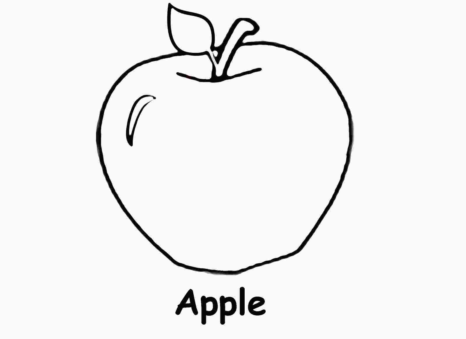 Coloring Apples Worksheet With Images