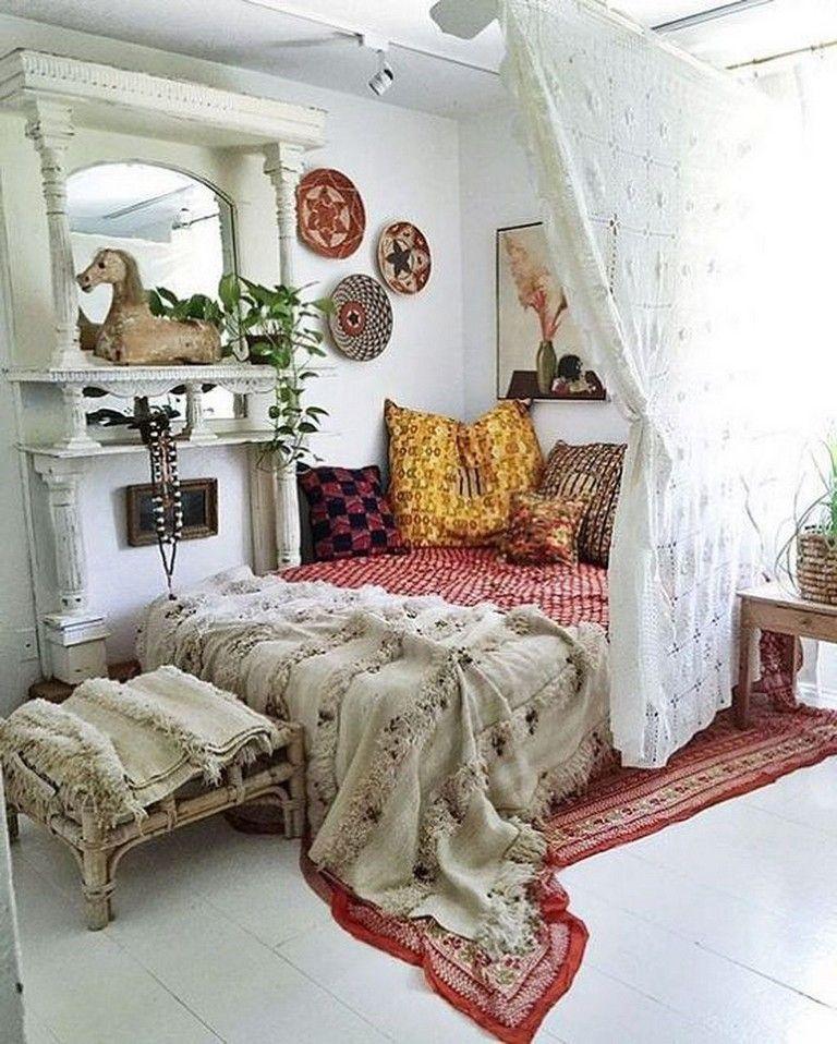 50 Gorgeous Studio Apartment Dividers Ideas Budget Friendly Apartment Apartmentgardening Apartmen Apartment Bedroom Decor Remodel Bedroom Home Decor Bedroom