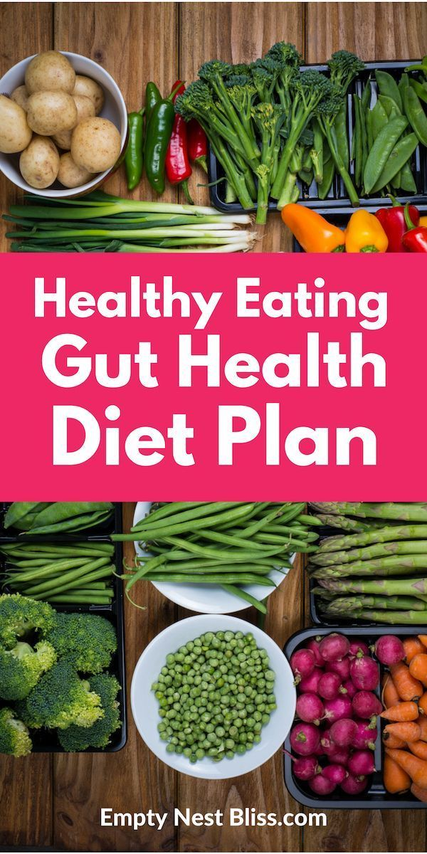 Tips and food lists for the best healthy eating gut health diet plan to help restore your gut health