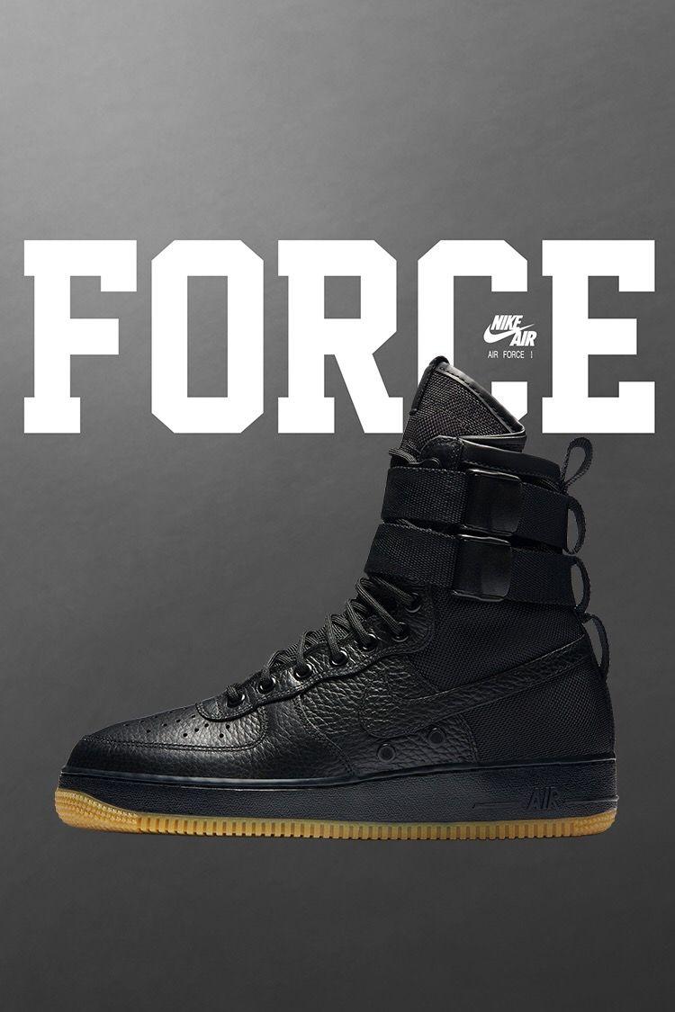 Nike Special Field Air Force 1 Black / Gum Nike air