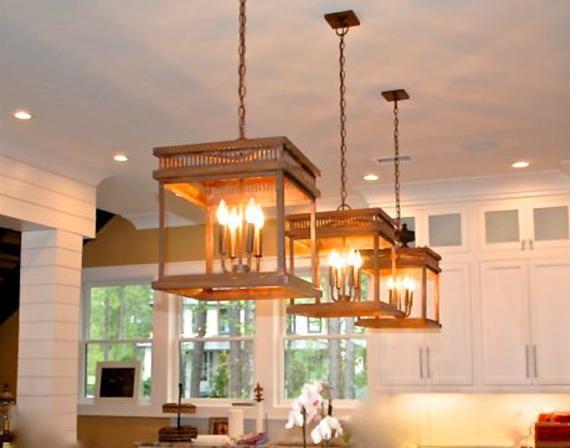 Luxe Home Shop Copper Chandelier Pendant Light