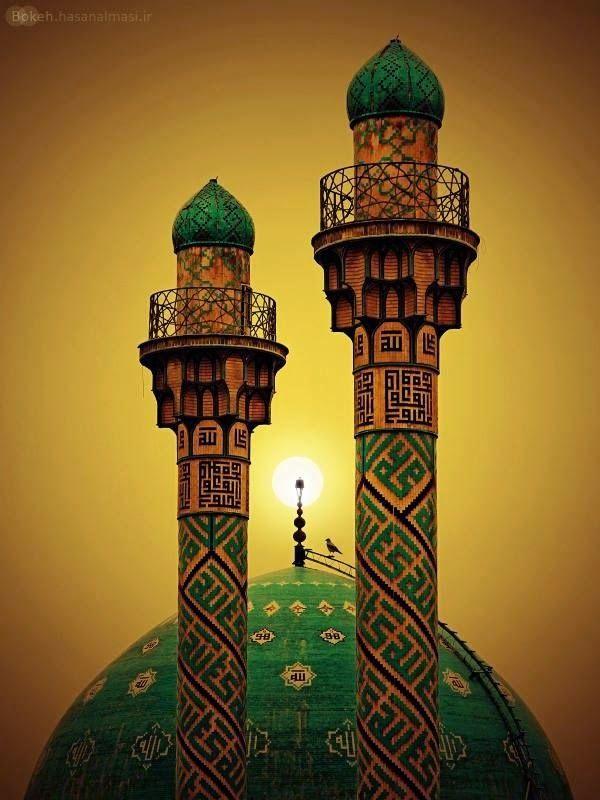 Eternal Sunshine Tehran, Sharif Mosque