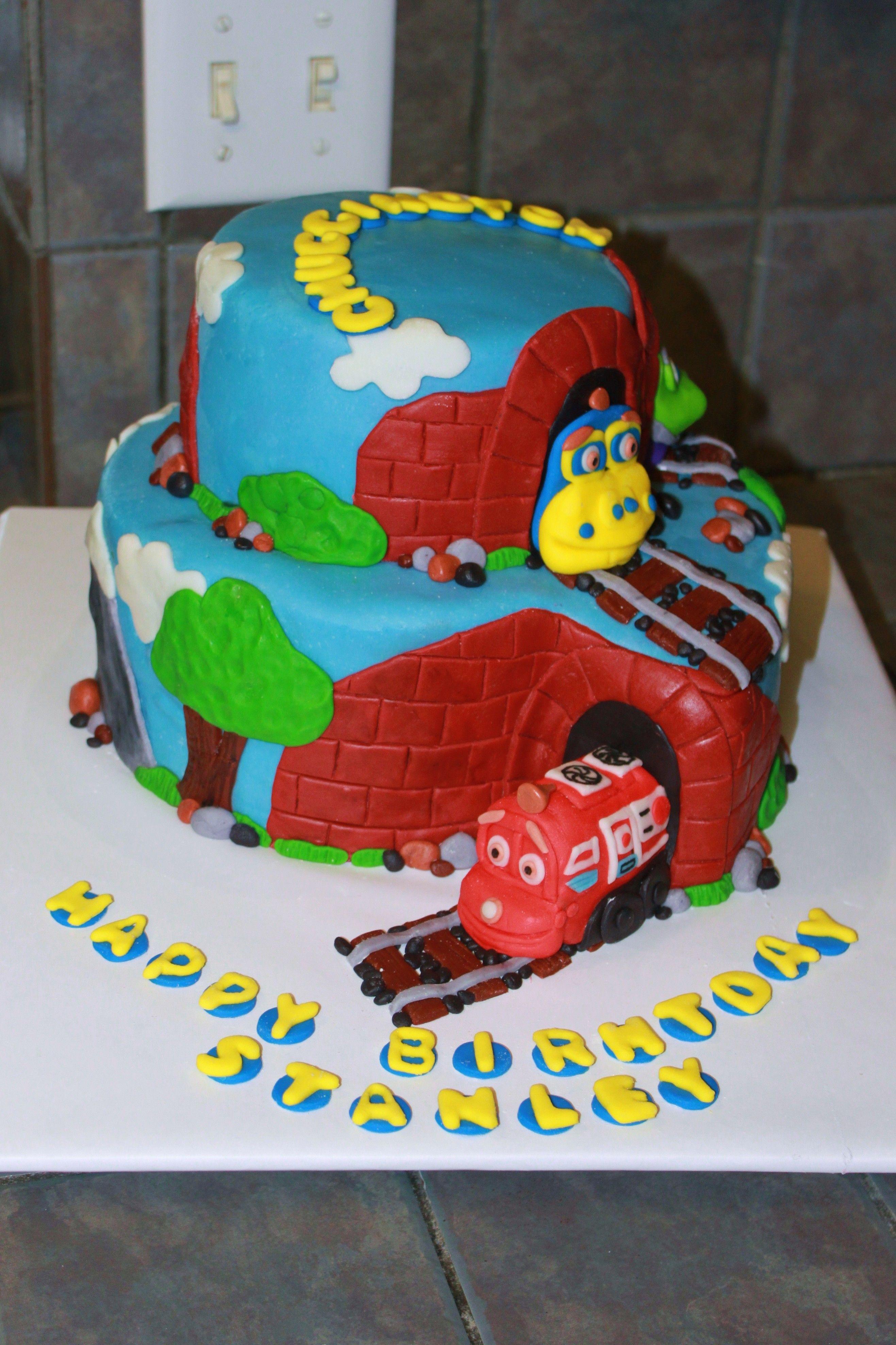 Chuggington Birthday Cake Childrens Cakes Pinterest